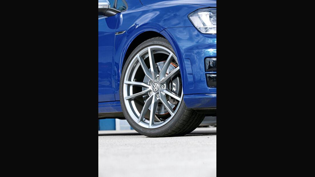 VW Golf R, Rad, Felge, Bremse