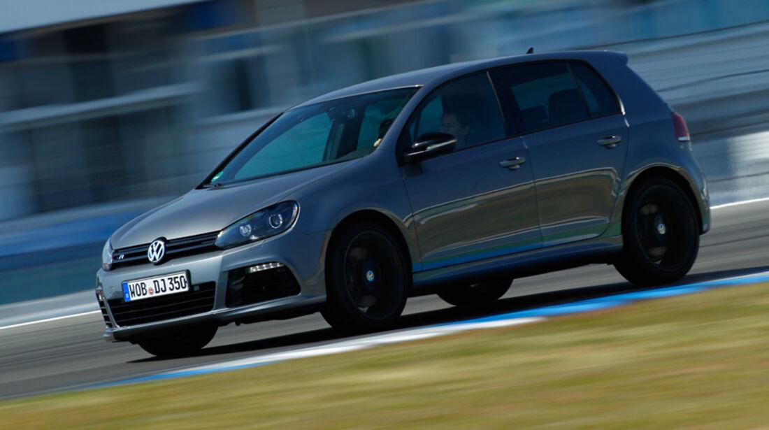 VW Golf R, Seitenansicht
