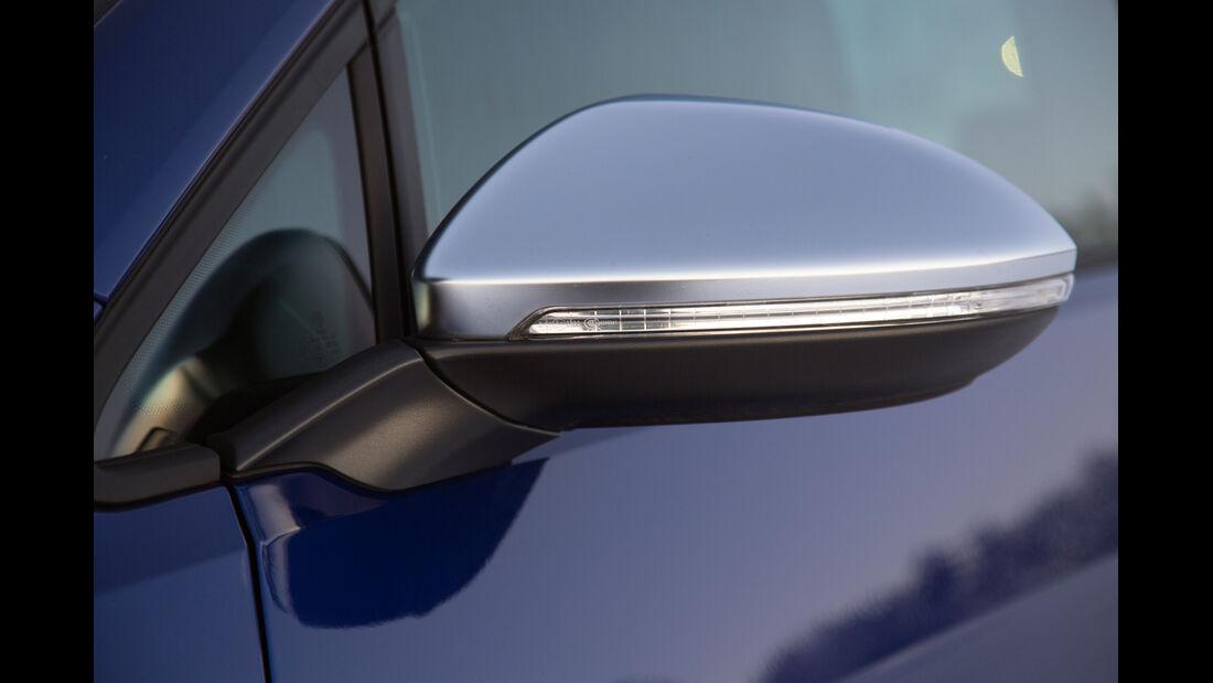 VW Golf R, Seitenspiegel