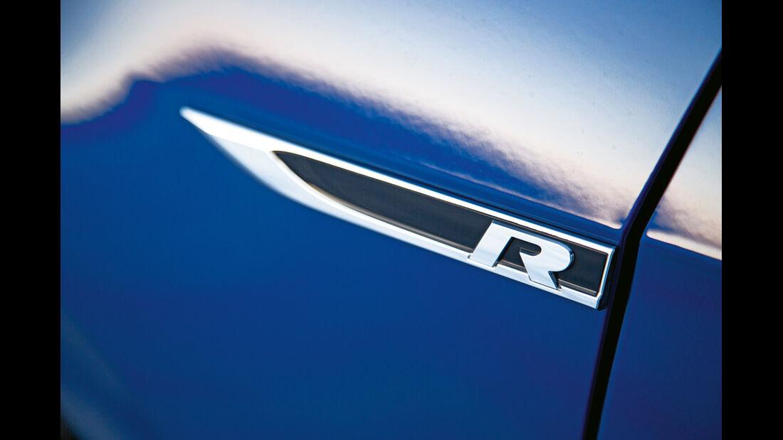 VW Golf R, Tür, Schriftzug
