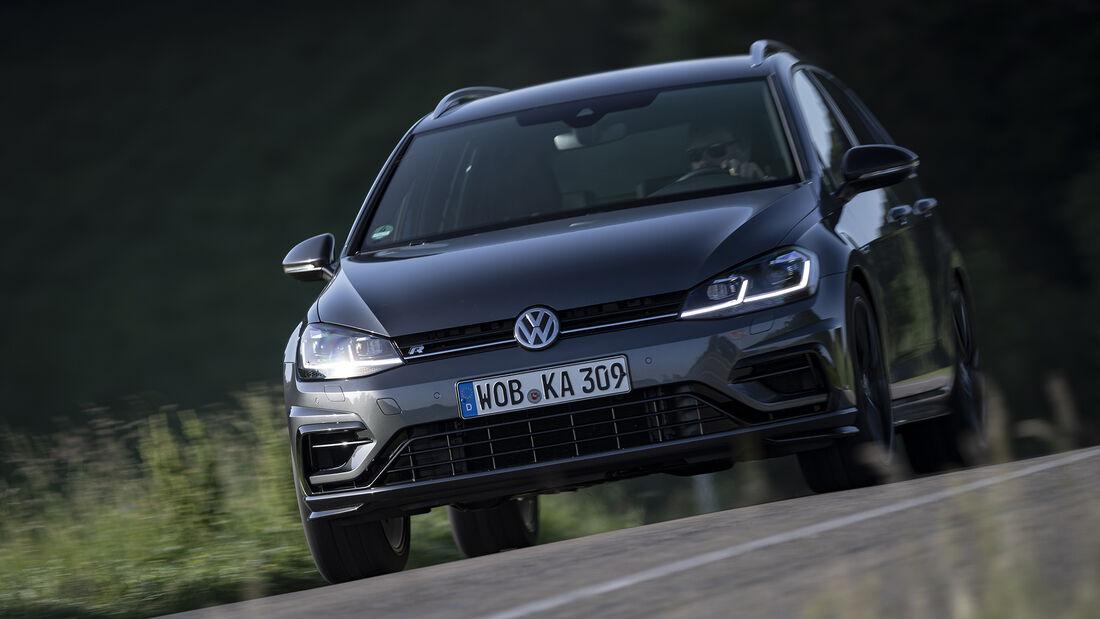 VW Golf R Variant 4Motion, spa_2019_09, Vergleichstest, Exterieur