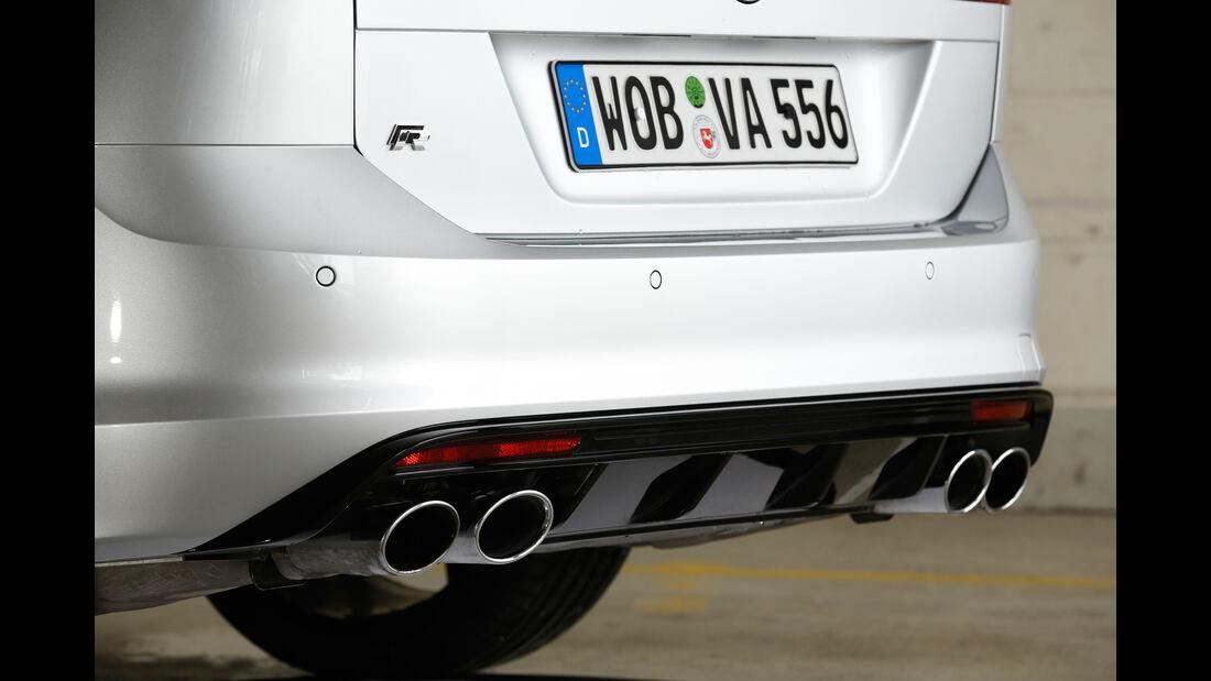 VW Golf R Variant, Auspuff, Endrohr