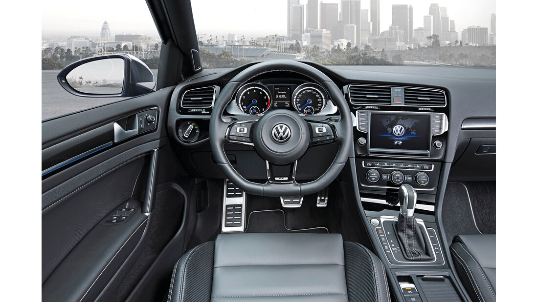 VW Golf R Variant, Cockpit