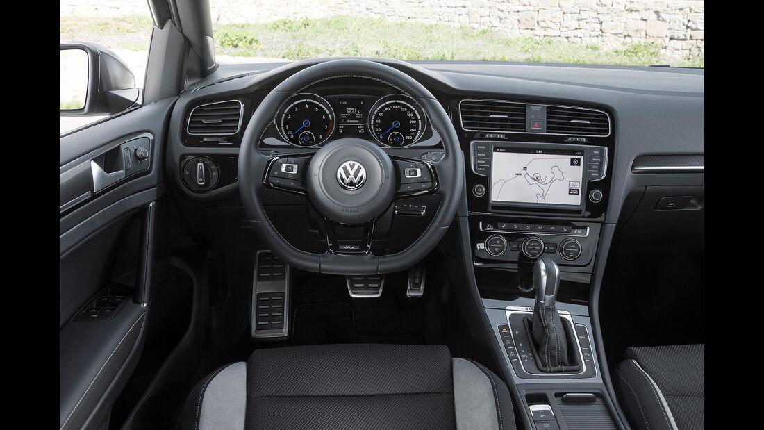 VW Golf R Variant, Cockpit, Innenraum, Lenkrad