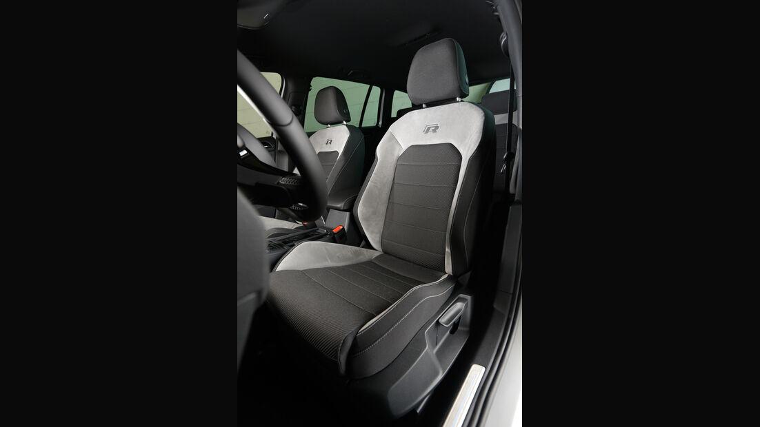 VW Golf R Variant, Fahrersitz