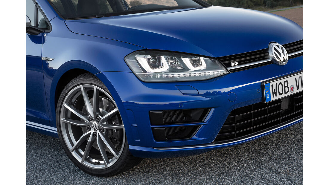 VW Golf R Variant, Felgen, Kühlergrill, Scheinwerfer