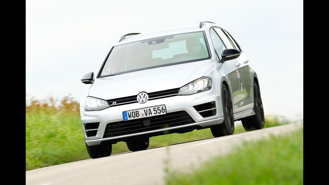 VW Golf R Variant, Frontansicht