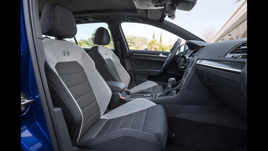 VW Golf R Variant, Innenraum, Sportsitze
