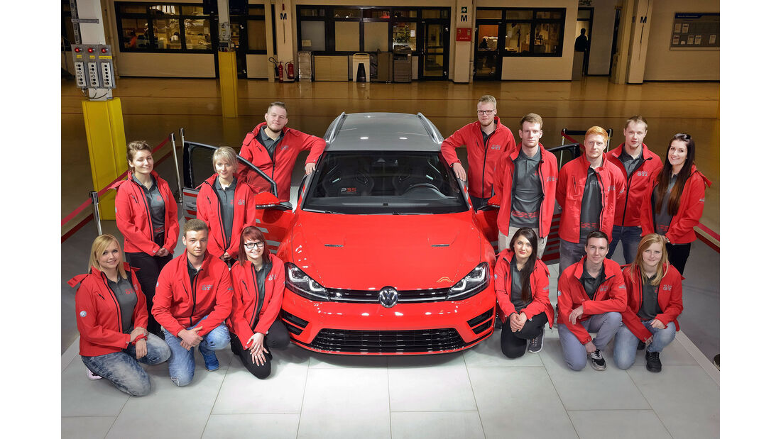 VW Golf R Variant Performance 35 Azubi Wörthersee