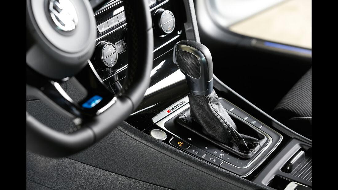 VW Golf R Variant, Schalthebel