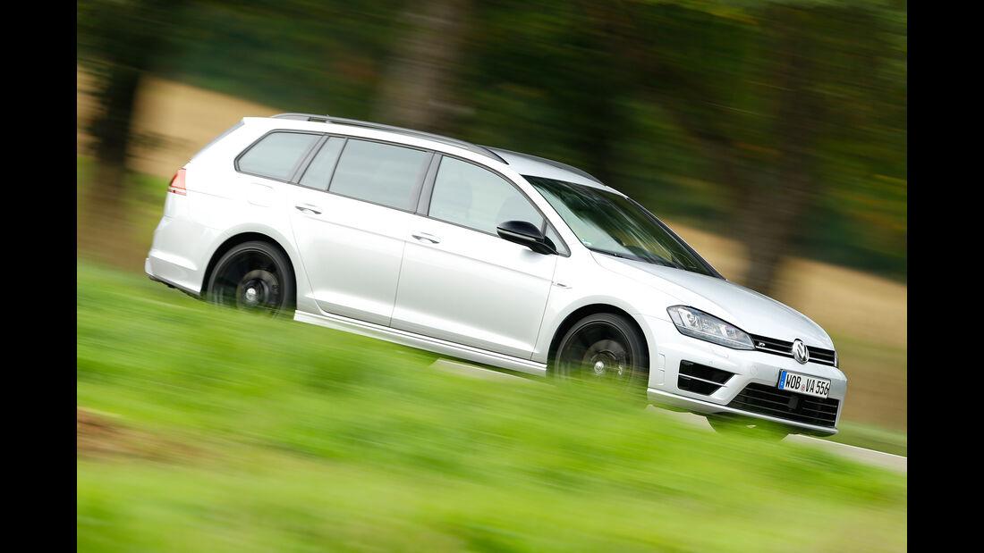 VW Golf R Variant, Seitenansicht