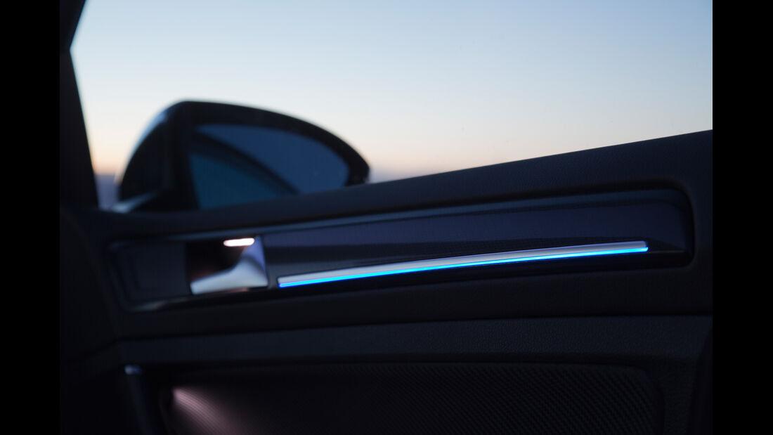 VW Golf R, Zierleiste, Aussenspiegel