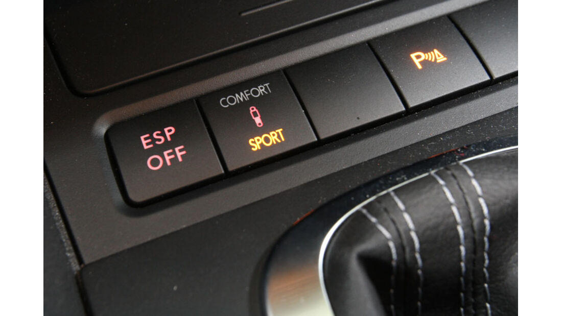 VW Golf R, adaptives Fahrwerk