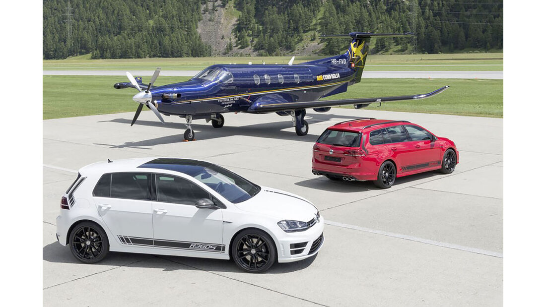 VW Golf R360S Sondermodell Schweiz
