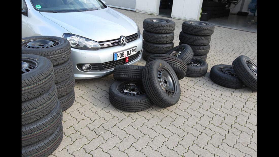 VW Golf, Reifen