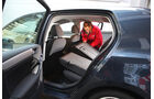 VW Golf, Rückbank