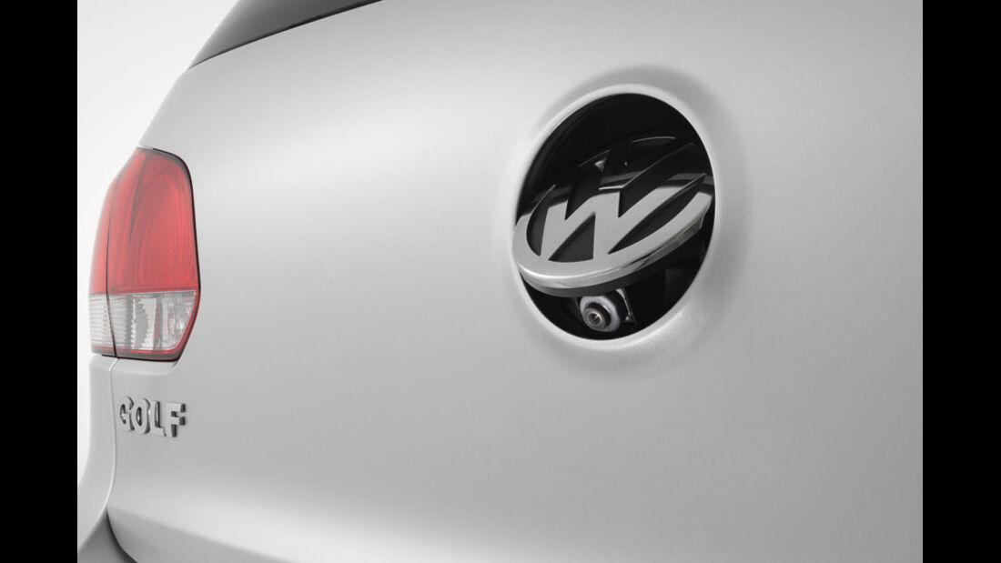 VW Golf, Rückfahrkamera