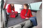 VW Golf, Rücksitz, Umklappen