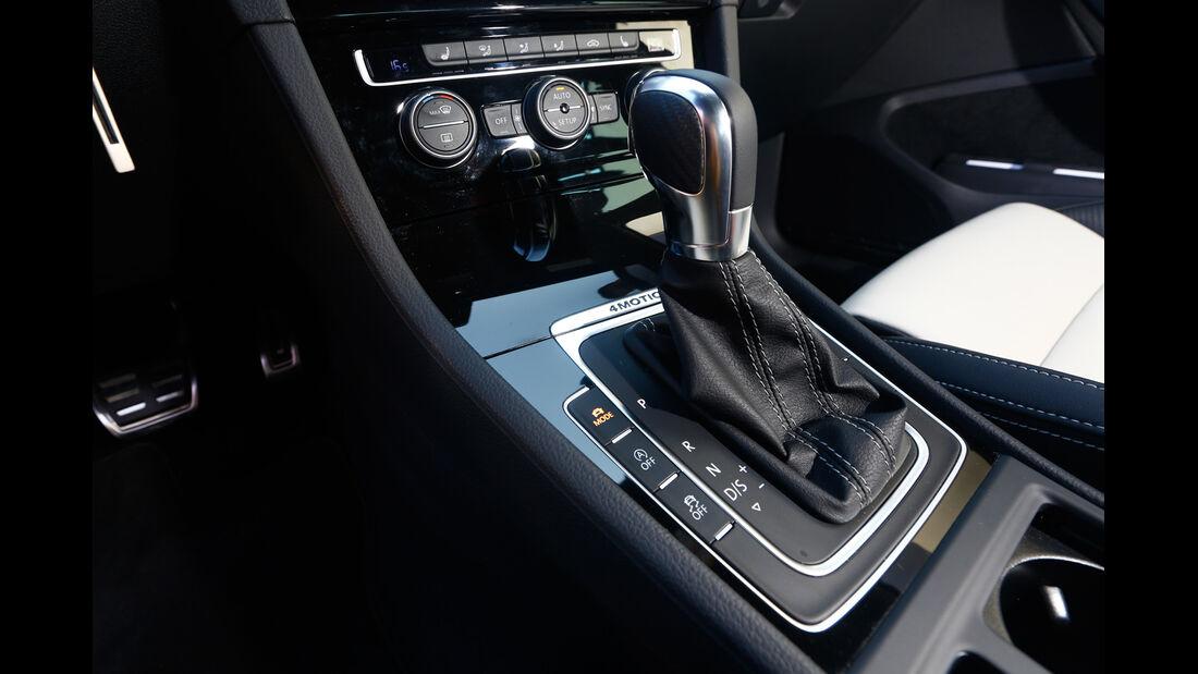 VW Golf, Schalthebel