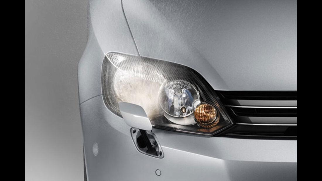 VW Golf, Scheinwerferwaschanlage