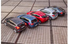 VW Golf, Skoda Octavia, Ford Focus, Mazda 3, Opel Astra