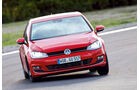 VW Golf, Sommerreifentest, Kurvenfahrt