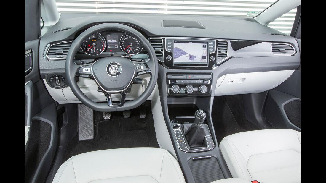 VW Golf Sportsvan 1.4 TSI, Cockpit