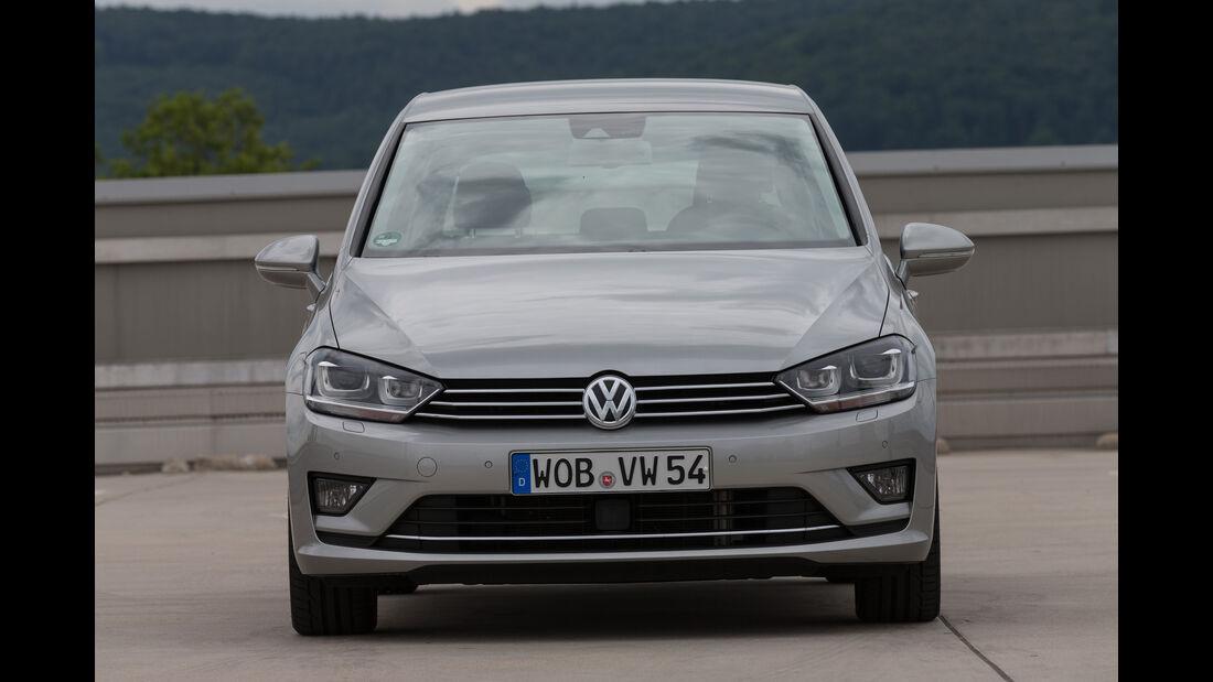 VW Golf Sportsvan 1.4 TSI DSG, Frontansicht
