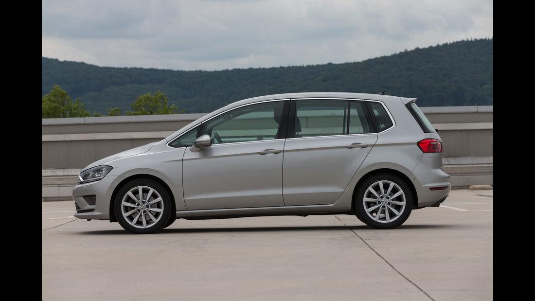VW Golf Sportsvan 1.4 TSI DSG, Seitenansicht