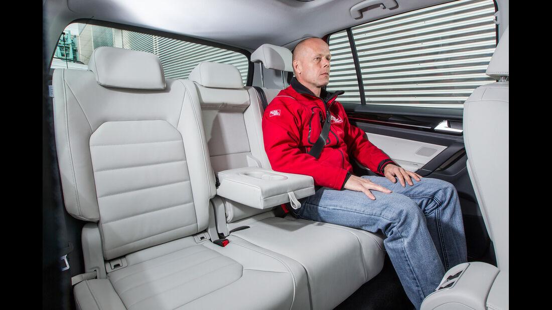 VW Golf Sportsvan 1.4 TSI, Fondsitz, Beinfreiheit