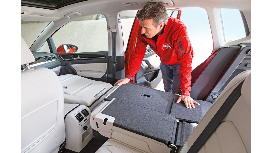 VW Golf Sportsvan 1.4 TSI, Fondsitz, Umklappen