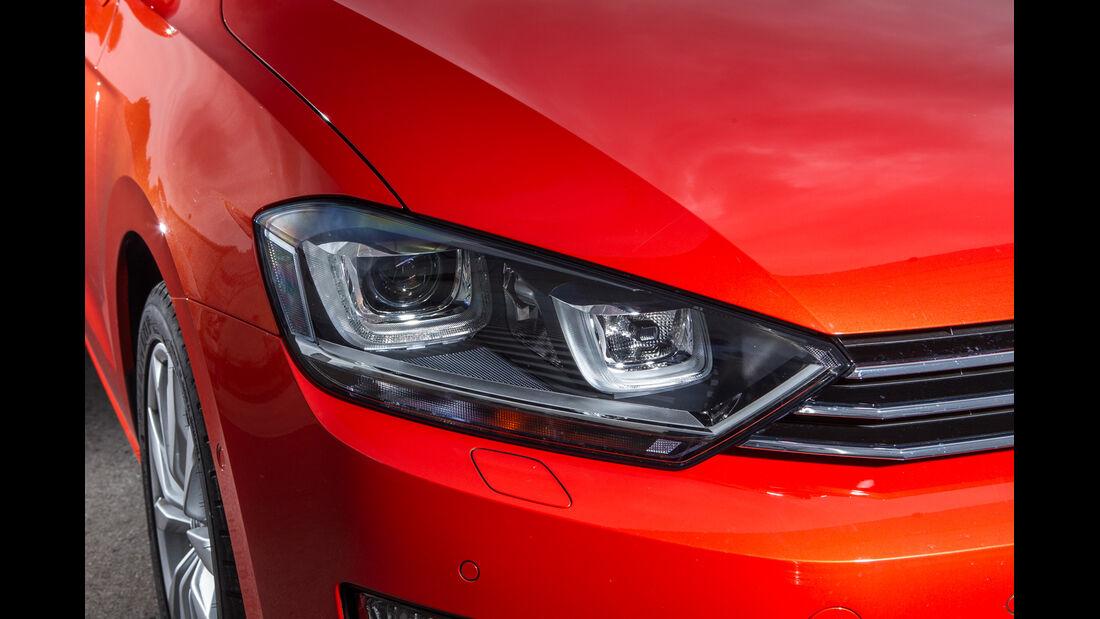 VW Golf Sportsvan 1.4 TSI, Frontscheinwerfer