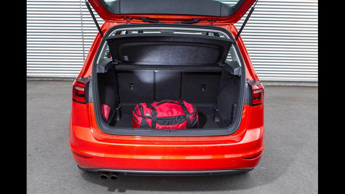 VW Golf Sportsvan 1.4 TSI, Kofferraum