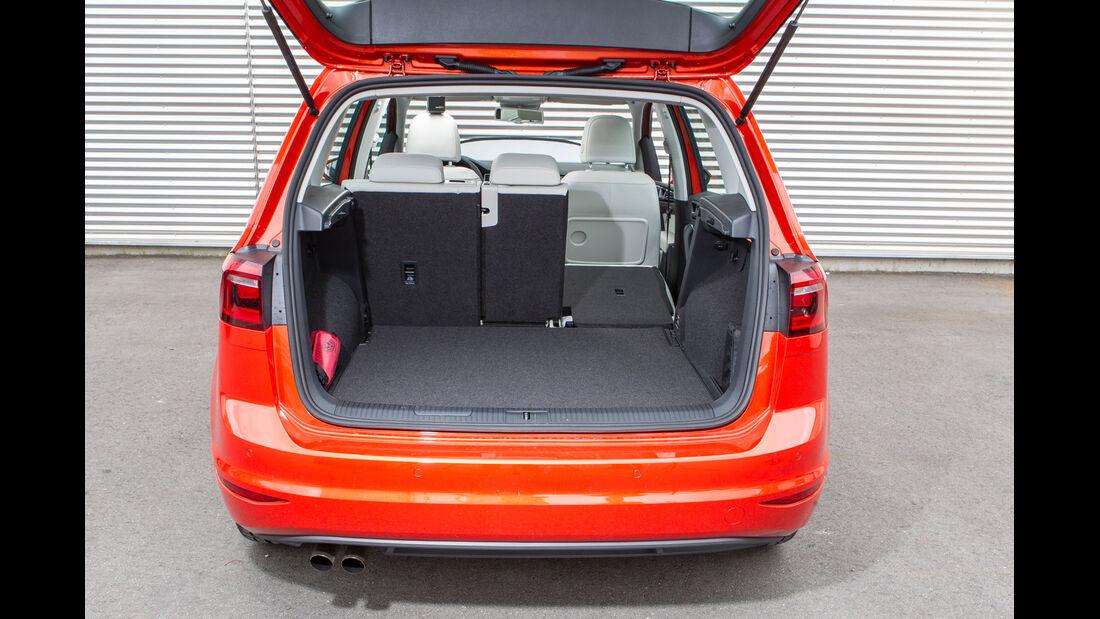VW Golf Sportsvan 1.4 TSI, Ladefläche