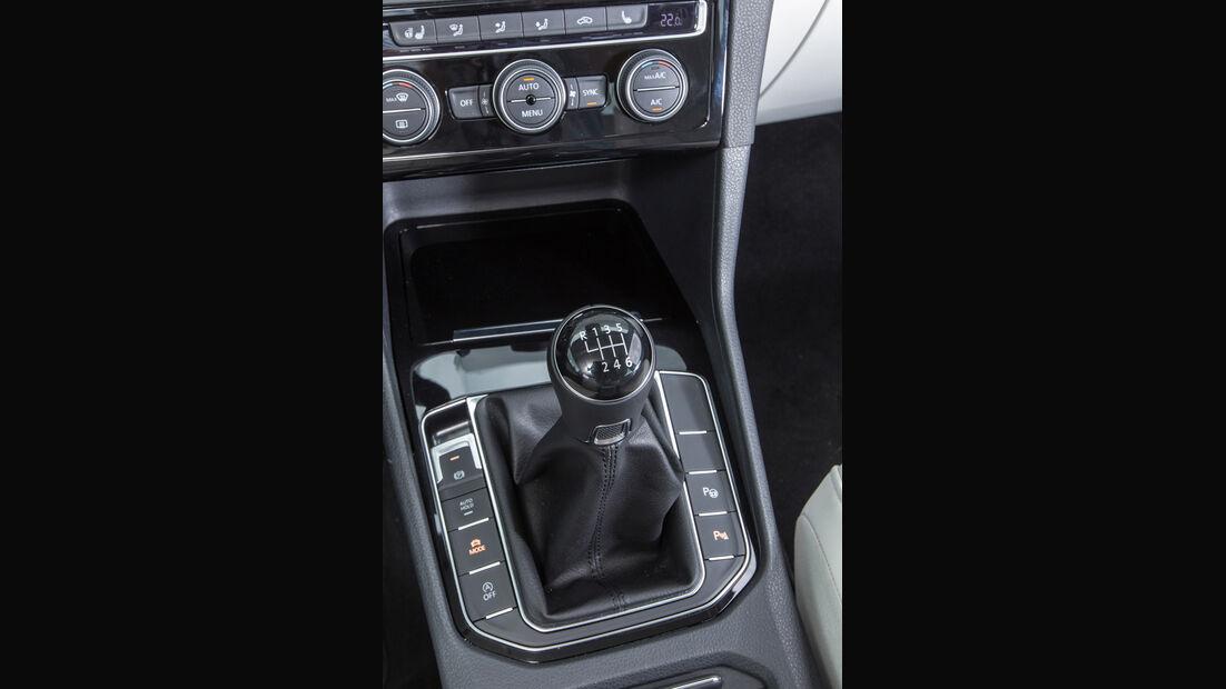 VW Golf Sportsvan 1.4 TSI, Schalthebel