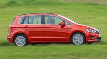 VW Golf Sportsvan 1.4 TSI, Seitenansicht