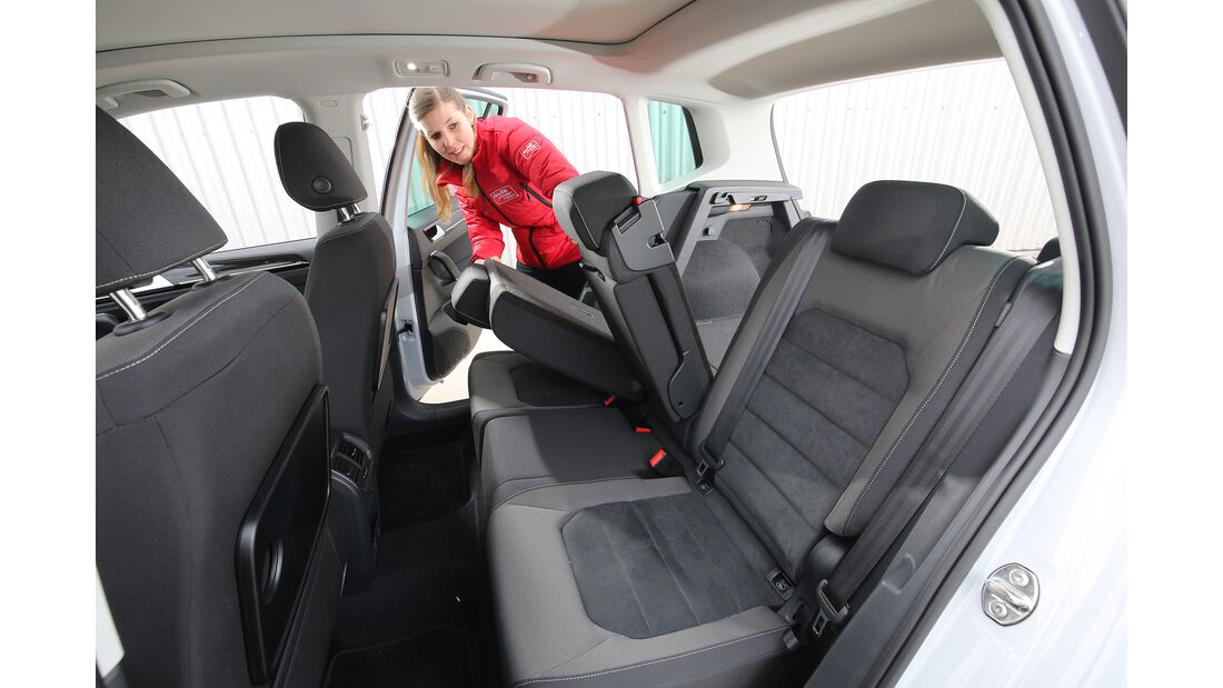 VW Golf Sportsvan 1.5 TSI Act, Interieur