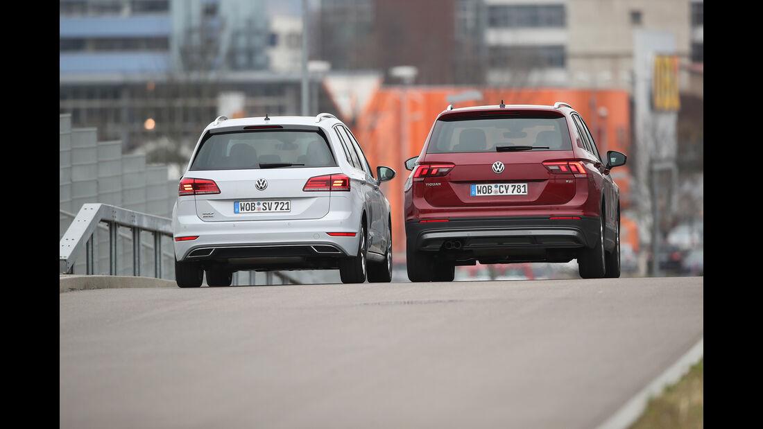 VW Golf Sportsvan 1.5 TSI Act, VW Tiguan 1.4 TSI Act, Exterieur