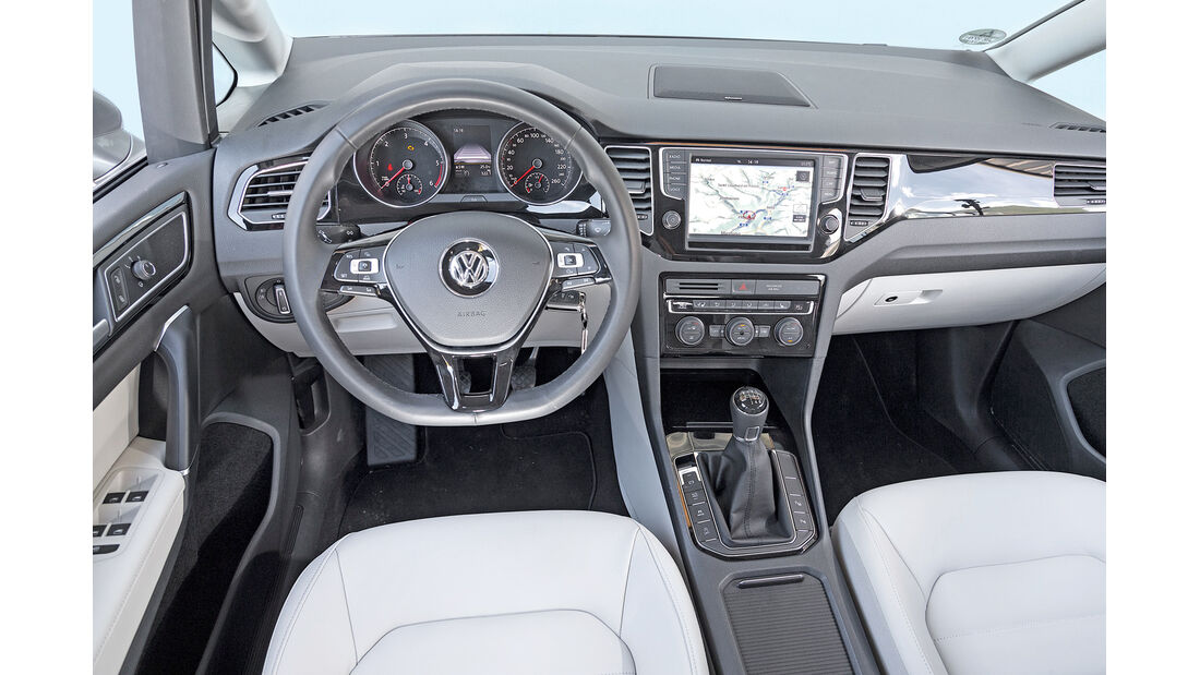 VW Golf Sportsvan 2.0 TDI, Cockpit
