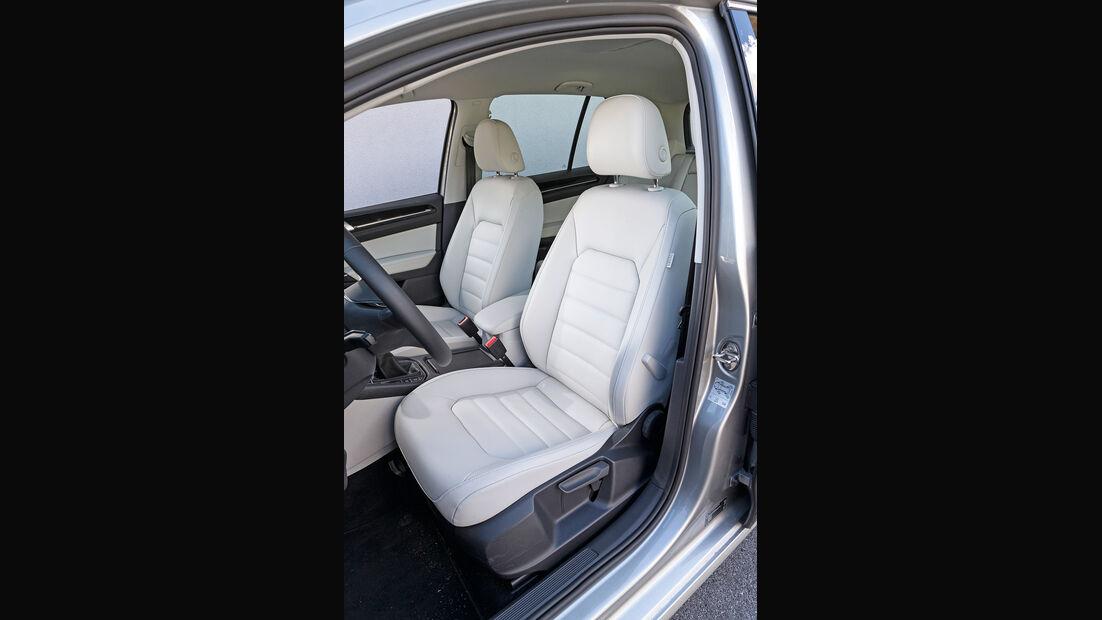 VW Golf Sportsvan 2.0 TDI, Fahrersitz