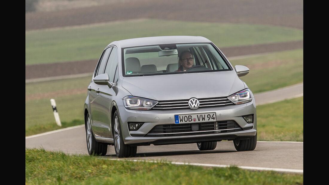 VW Golf Sportsvan 2.0 TDI, Frontansicht