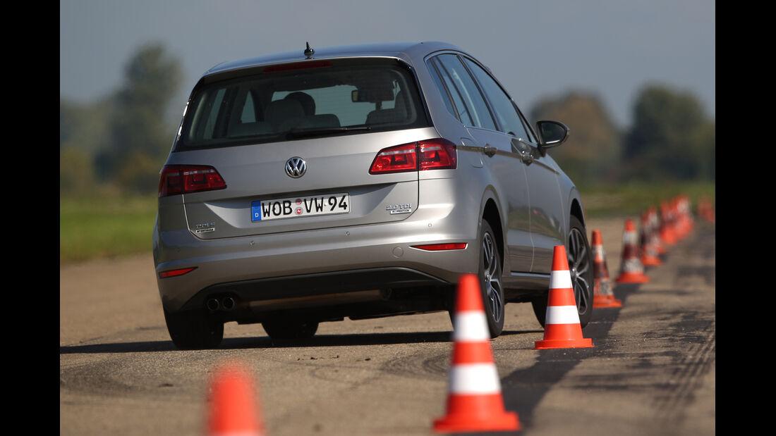 VW Golf Sportsvan 2.0 TDI, Heckansicht