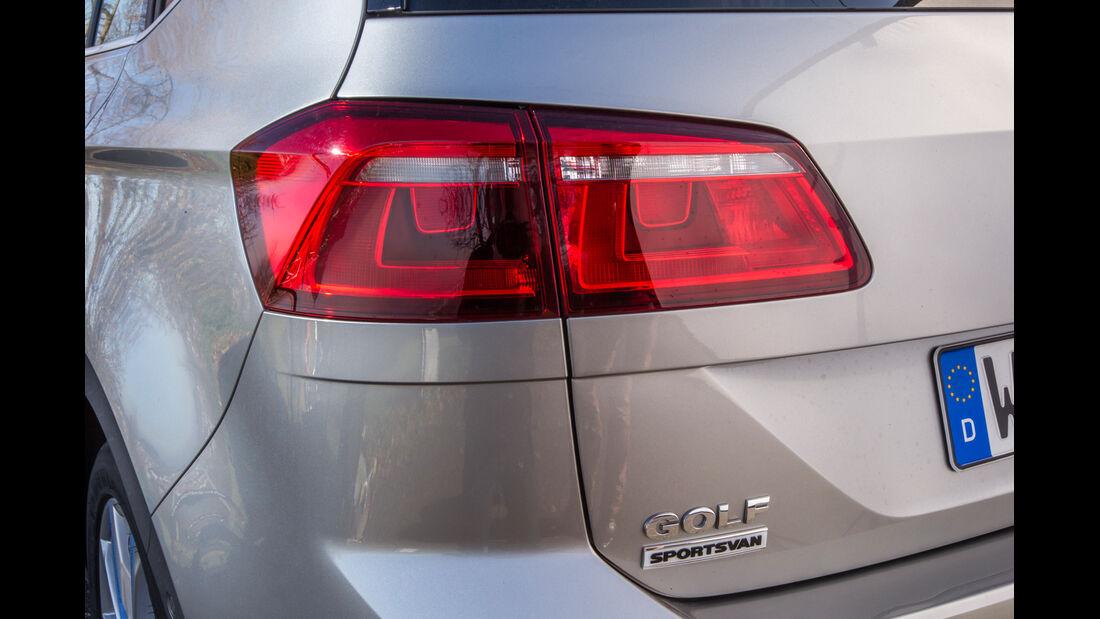 VW Golf Sportsvan 2.0 TDI, Heckleuchte