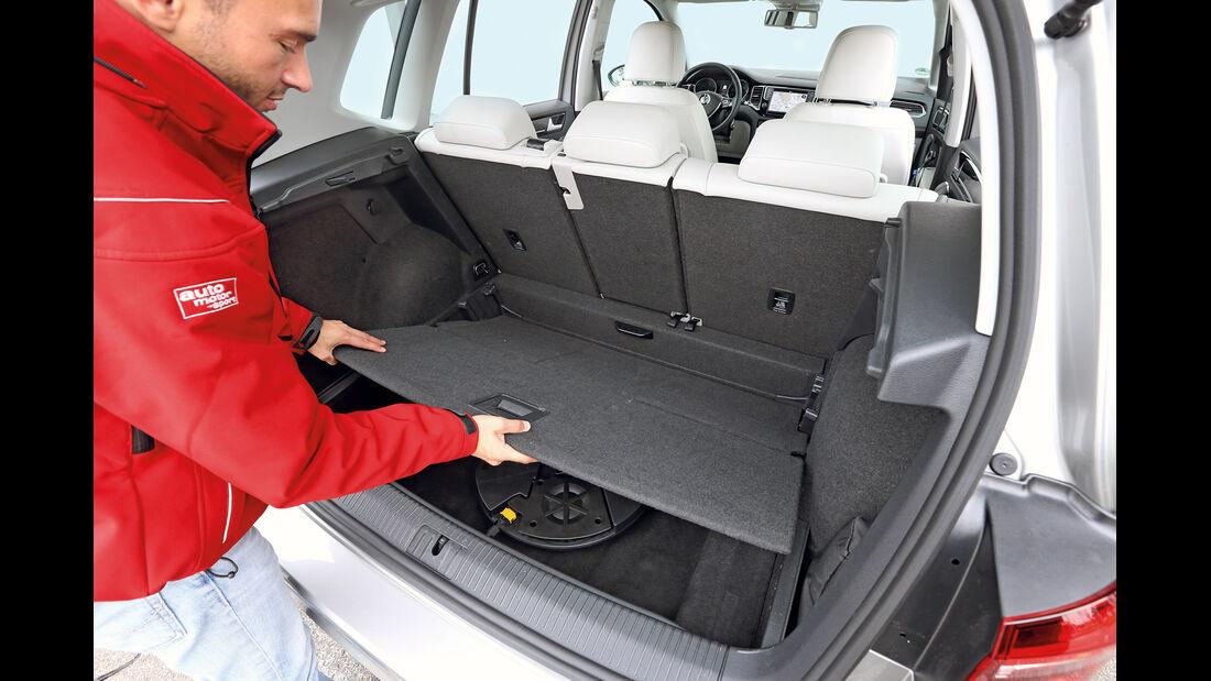 VW Golf Sportsvan 2.0 TDI, Kofferraumboden