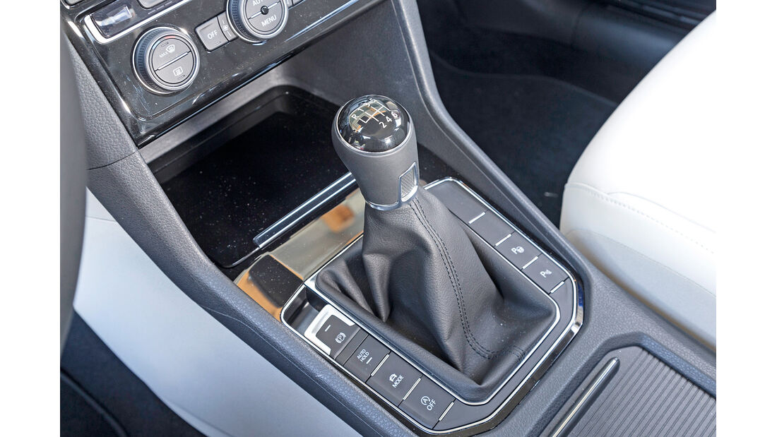 VW Golf Sportsvan 2.0 TDI, Schalthebel