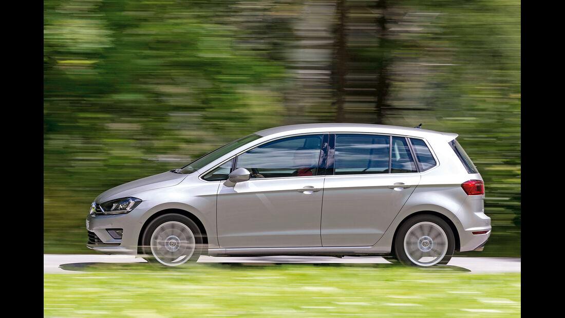 VW Golf Sportsvan 2.0 TDI, Seitenansicht