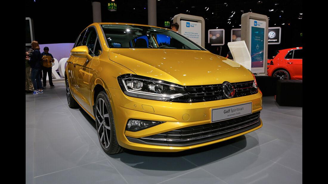 VW Golf Sportsvan 2017 Facelift