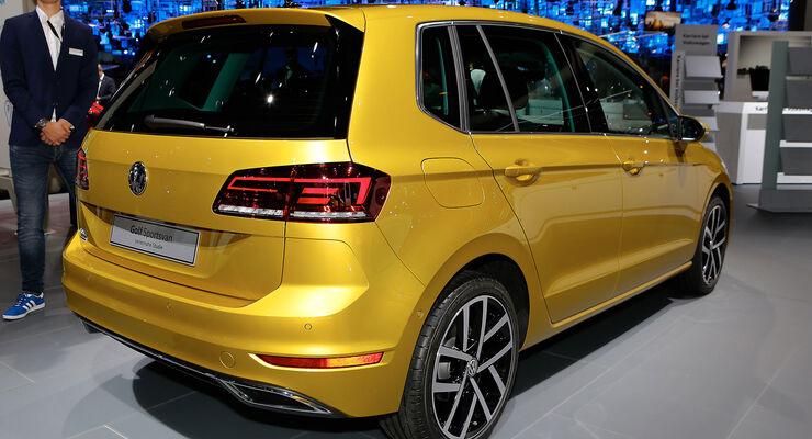 vw golf sportsvan 2017 daten infos marktstart preis auto motor und sport. Black Bedroom Furniture Sets. Home Design Ideas