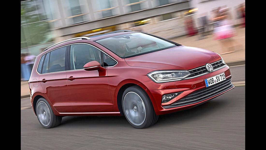 VW Golf Sportsvan, Best Cars 2020, Kategorie L Vans