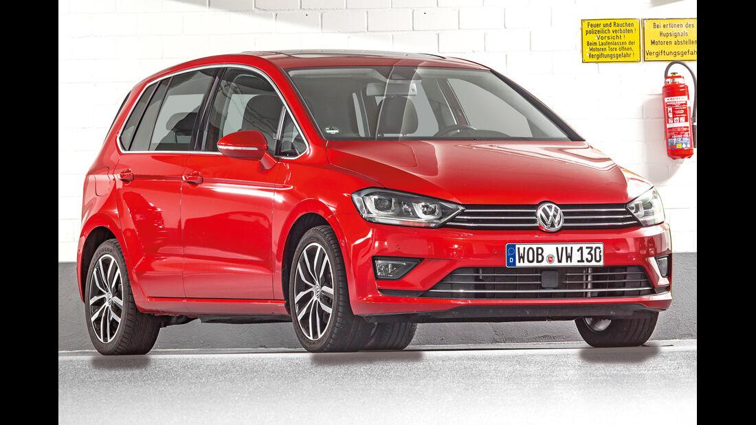 VW Golf Sportsvan, Frontansicht